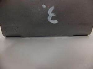 製缶板金加工の曲げ部位の切欠け変形事例