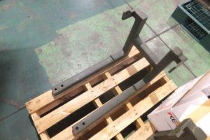 塗装機械の取り付けブラケット