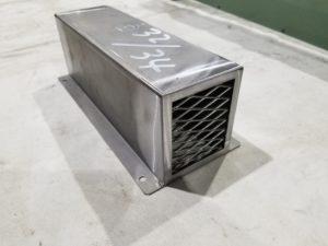 産業機械の冷却ファンのカバー