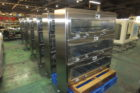 ステンレス製ガス充填機能付き棚