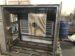 板金加工品の裏面に補強材の鋼材と防音材を取付けた状態