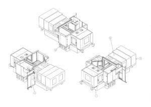 全体図(3D設計)