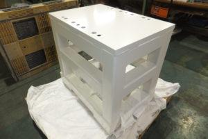 製缶加工 装置用架台