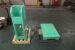 装置取付架台背面と架台台車